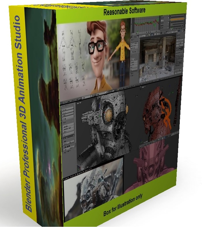 3D Graphics Animation Design Studio Pro for Microsoft Windows - Digital download