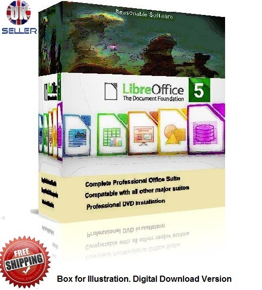 Microsoft Windows compatable Libre Office 5 professional Office Software Suite